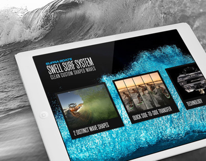 Supra Boats Swell Surf System