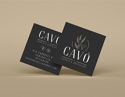Cavò - Lieviti e Distillati _ Branding