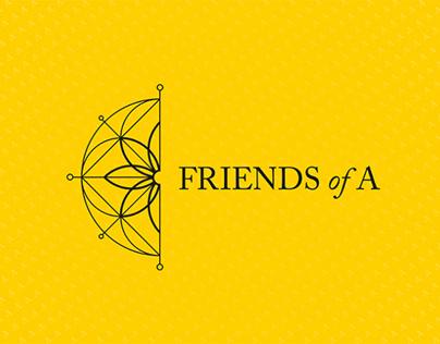 FRIENDS of A - Branding