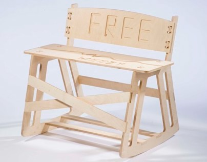 'Free Weezy' Rocking Bench
