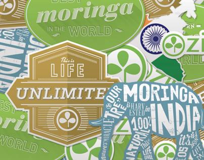 Zija Promotional Stickers