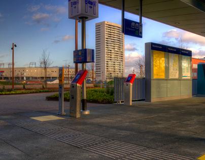 Groningen Europapark station e.o.