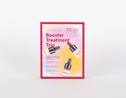 Booster Treatment Trio GWP Packaging & Design