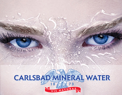 Brochure for Mineral water