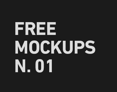 Free Mockups Number 1