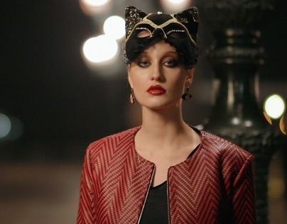 """""""Duchess for a night"""" BTS  for Fashion&Beauty Milan"""
