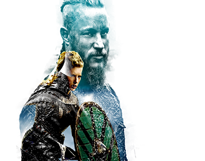 Higor Neves Hagnar and lagertha double exposure