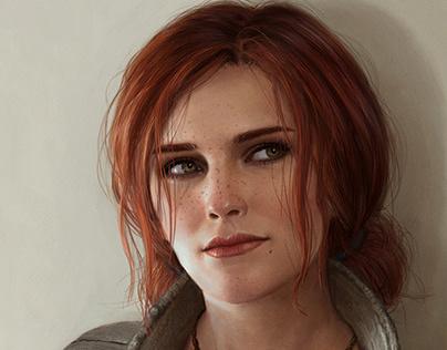 Triss Merigold Portrait
