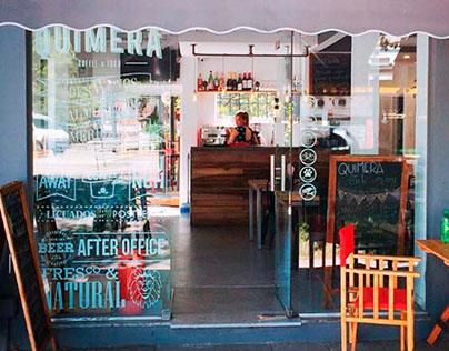 Quimera |Coffee and Food | Diseño de Identidad | Brand