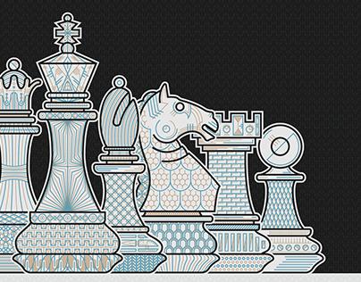 Sacred chess - Illustration