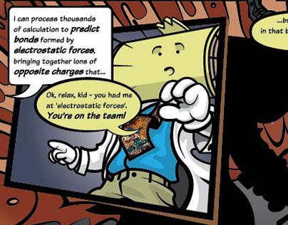 Comic Book advertisement