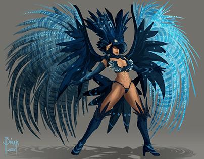 Carnival dancer · Mar 2020