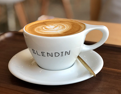 BlendIn Coffee Club Branding & Collateral