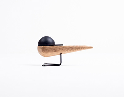 Tern - wooden seabird