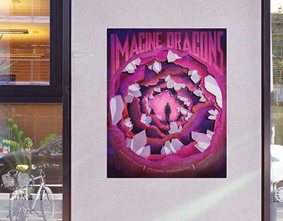 Imagine Dragons Gig Poster