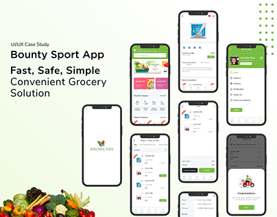 Fast, Safe, Simple Convenient Grocery Solution