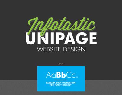 Infotastic Unipage Website