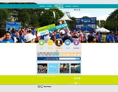Website - Circuito Caixa 2014