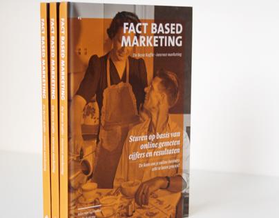 'Fact based marketing' book design