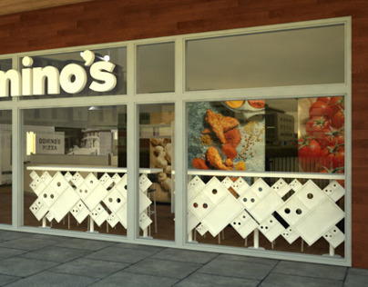 Domino's Store in Dundee, Scotland