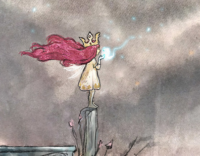 CHILD OF LIGHT / VIDEO GAME / MAIN CHARACTER DESIGN