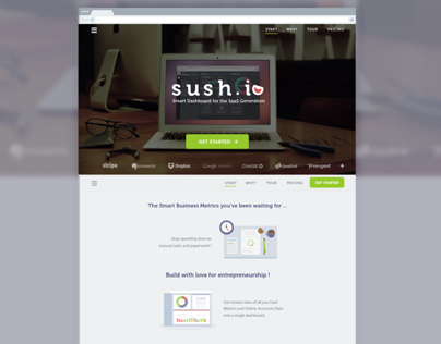 Sush.io re-design
