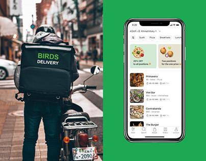 Birds — Food Delivery App
