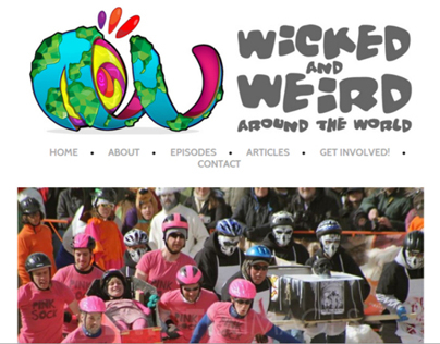 Wicked and Weird Festivals Around the World Website