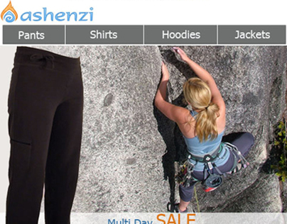 Ashenzi Email Newsletter