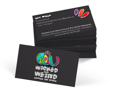 Wicked Weird Festivals Business Card