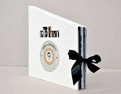 "Carrousel Book ""Pierrot"""
