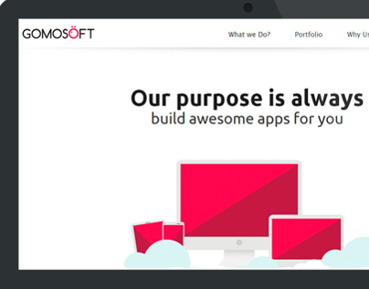 Gomosoft Redesign