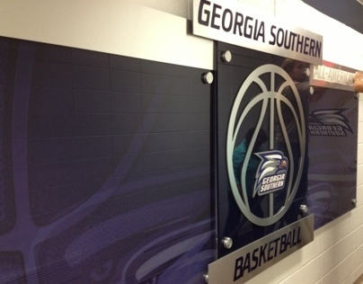 Georgia Southern University Basketball Branding