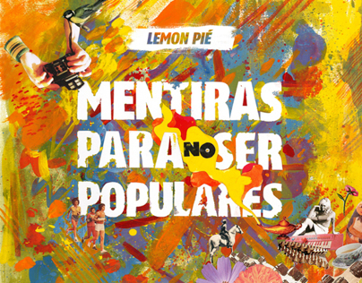 "LEMON PIE ""Mentiras para no ser populares"" - CD"