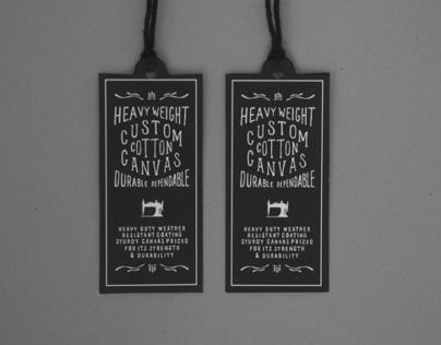 Herschel Supply Co Cotton Canvas Collection - Labels