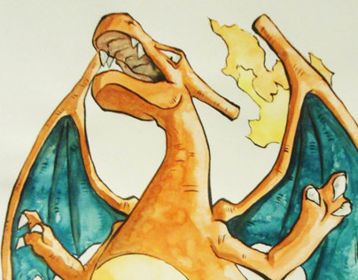 Revager, the Charizard