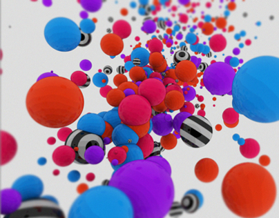 Beautiful Cinema 4D Particles