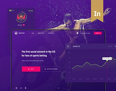 Look My Bet - Sport Social Network
