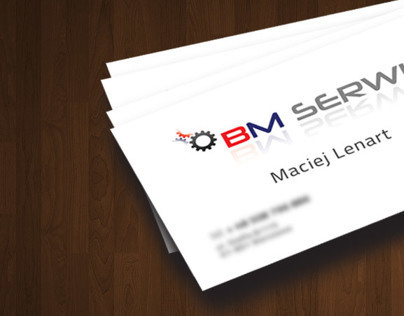 Business Card - BM Serwis