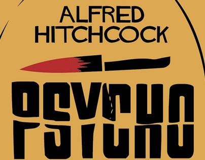 Alfred Hitchcock Alternative Movie Poster