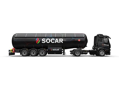 Socar Petrol Rafinerisi Araç Giydirme Projesi