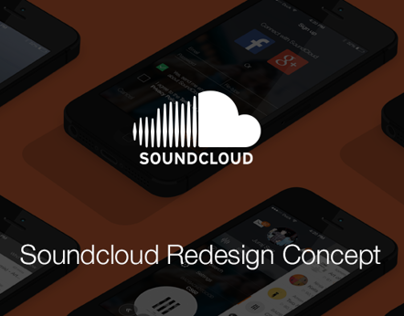 Redesign Concept Soundcloud for iOS7