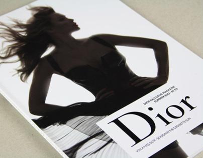 Dior exclusive magazine