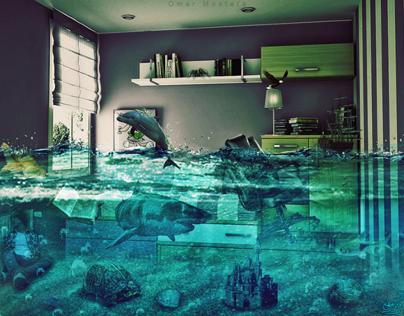 Room Underwater