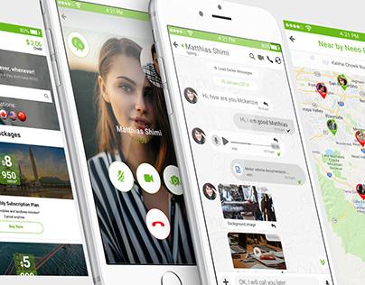 Neeo Messenger App (IOS)