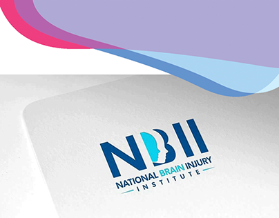 National Brain Injury Institute NBII - logo design