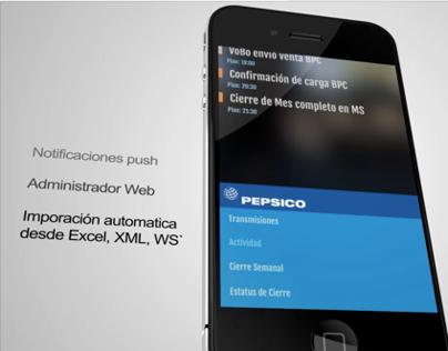 Aplicación de estadísticas para Android y iOS