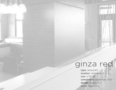 Ginza Red Izakaya Sushi Lounge On Behance