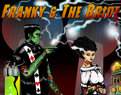 Franky& the Bride poster