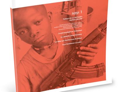 Juvenile Delinquency Magazine Design